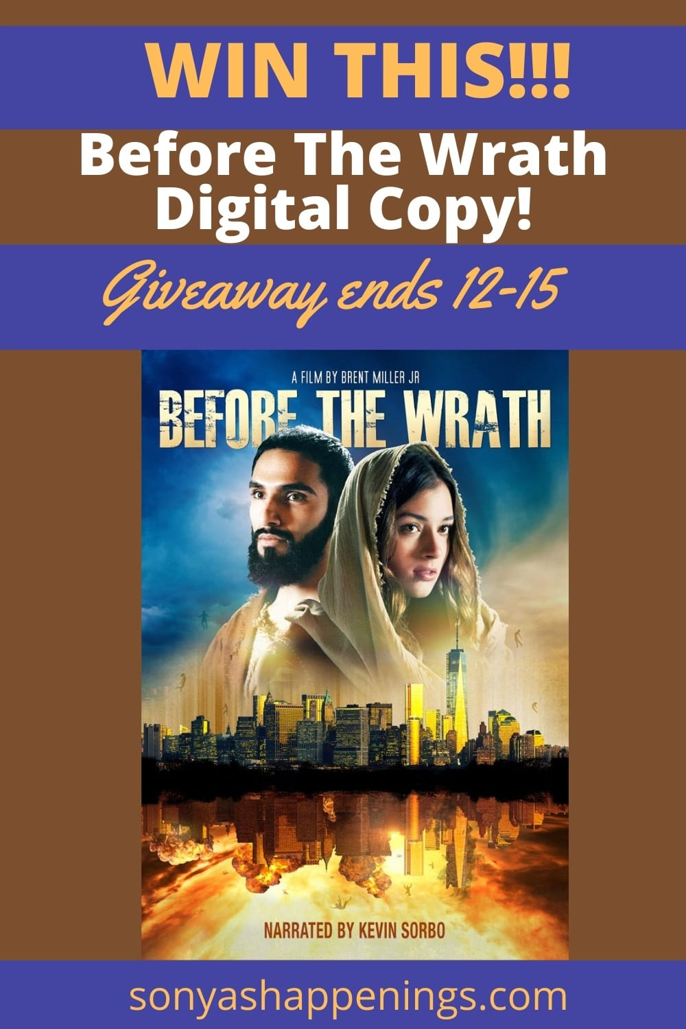 Before The Wrath - #1 Christian Film - Giveaway Ends 12-15 #beforethewrathmovie