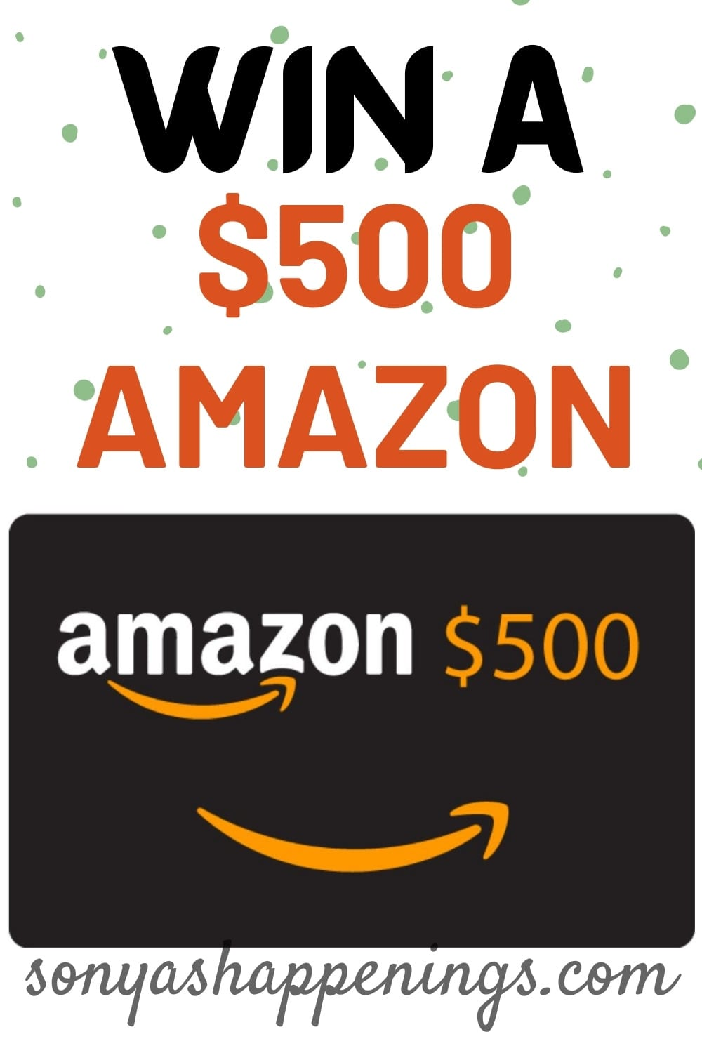 Win a $500 Amazon gift card and a Centrum prize pack ~ sweeps ends 12-9