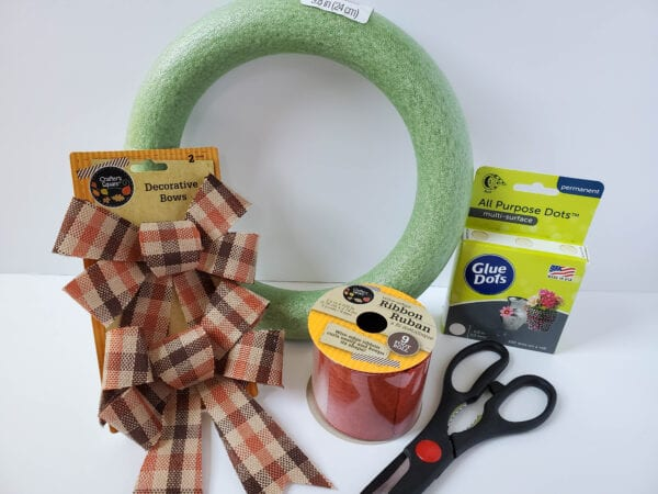 Supplies For Dollar Tree Wreath