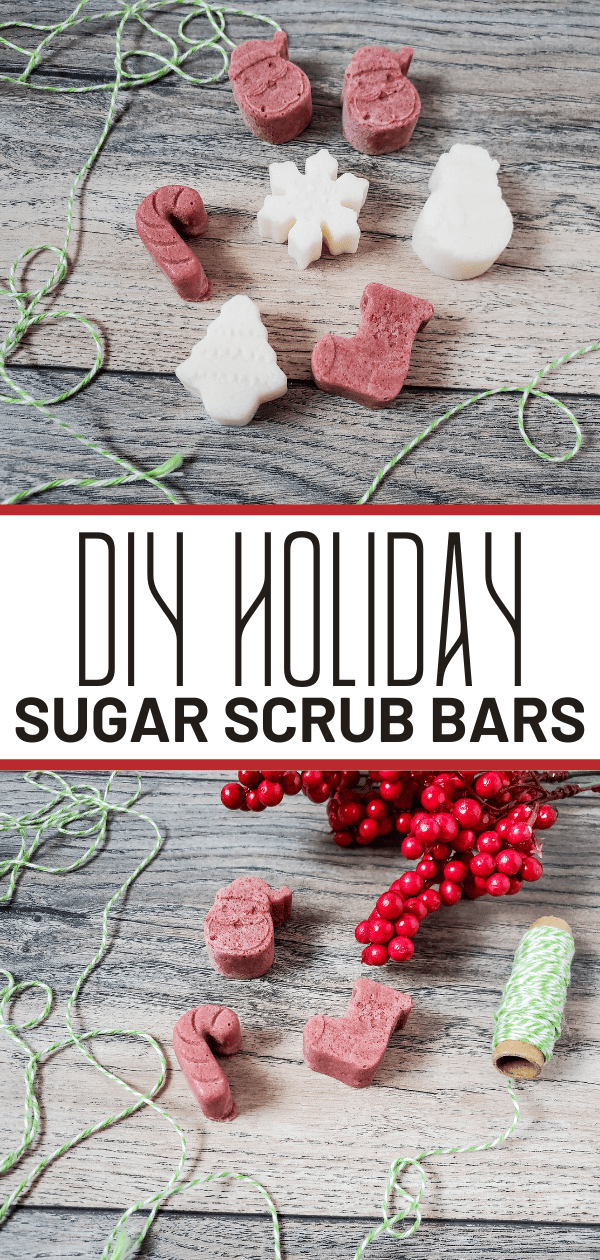 Christmas Sugar Scrub Bar Tutorial ~ Really EASY!