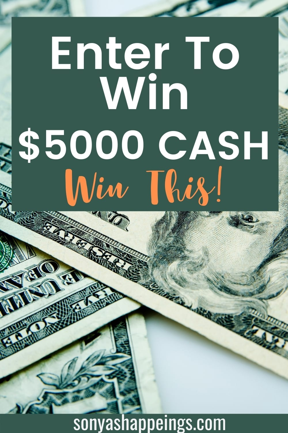 Win $5000 cash + 99 instant prizes ~ sweeps ends 2-1