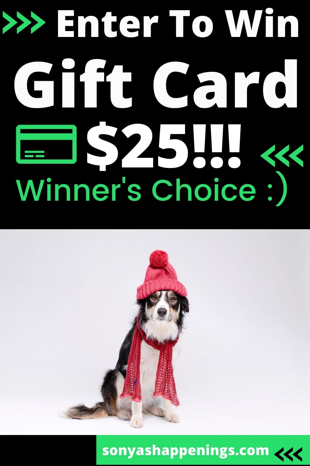 Win the January Just Because $25 giftcard giveaway ~ Ends 1-26