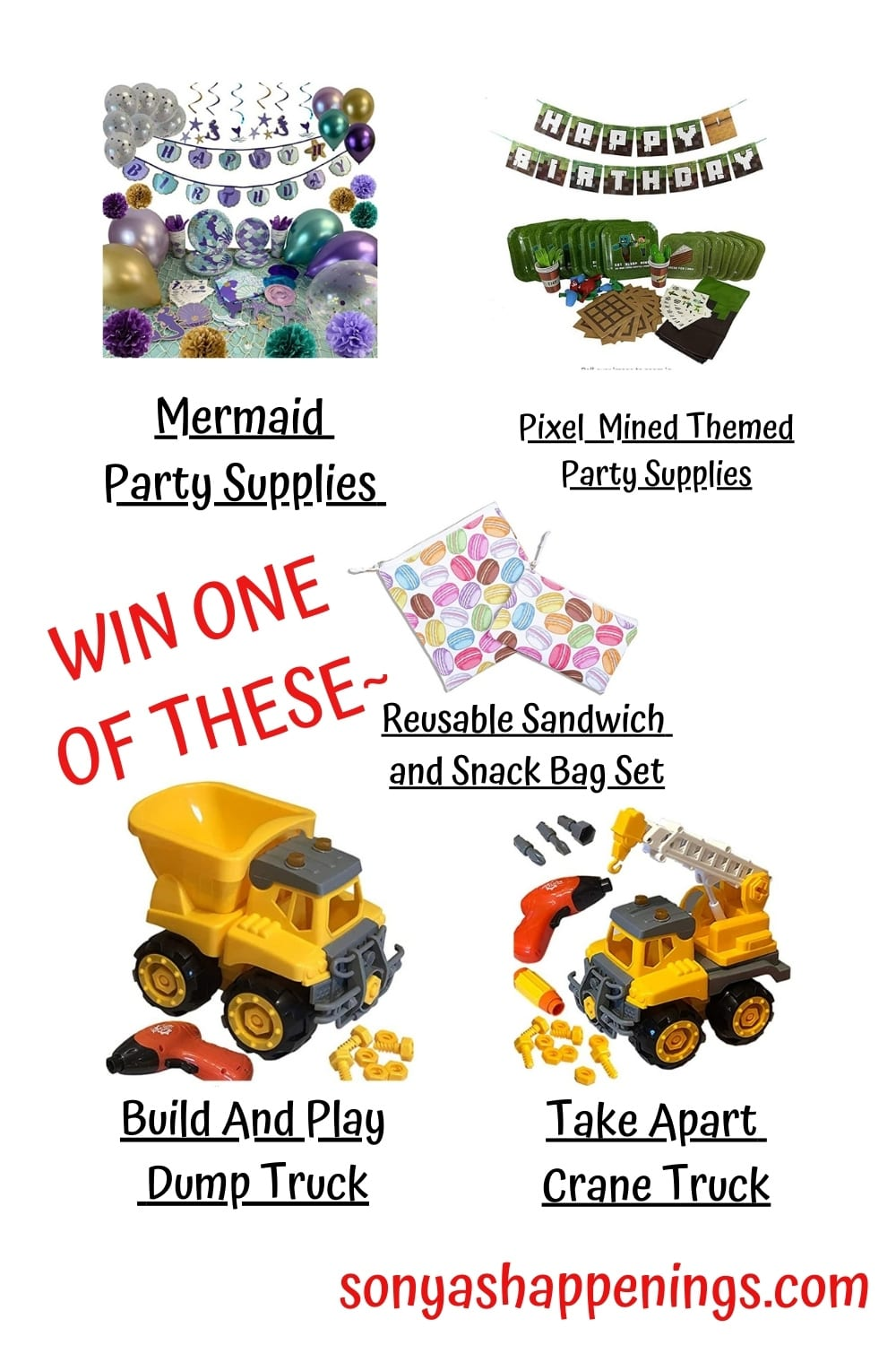 5 WINNERS!!! Enter To Win Toys ~ Giveaway Ends 1-5-21