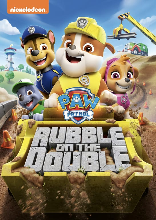 Win The Paw Patrol ~ Rubble On The Double DVD ~ Giveaway Ends 1-26