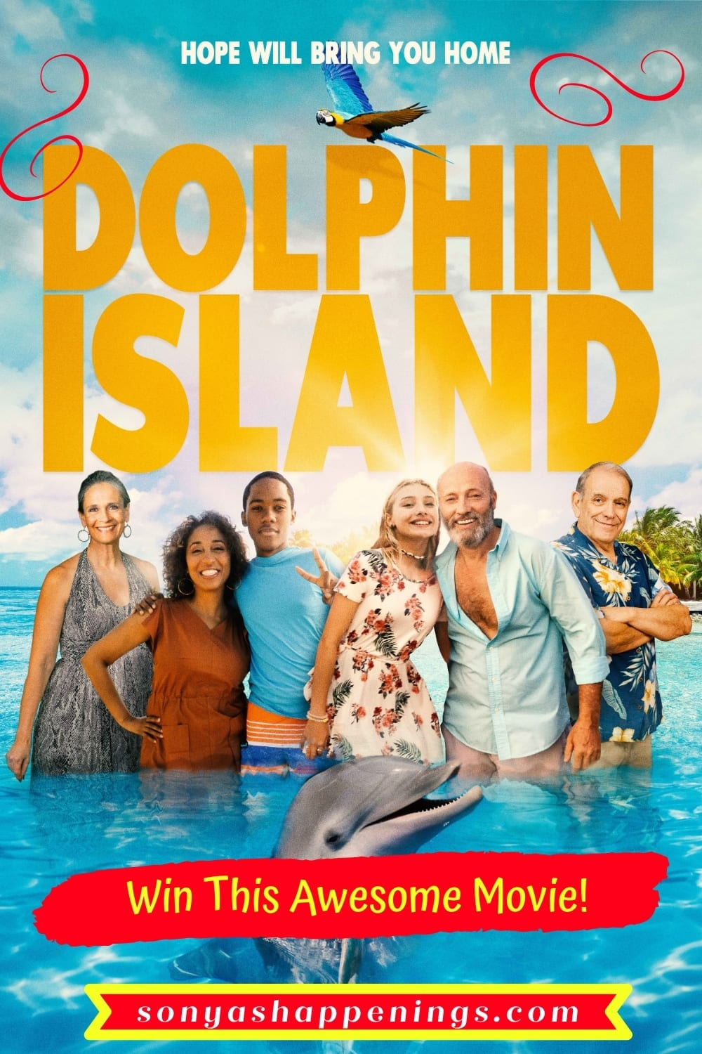 Dolphin Island Movie Review & Giveaway ~ Ends 3-13