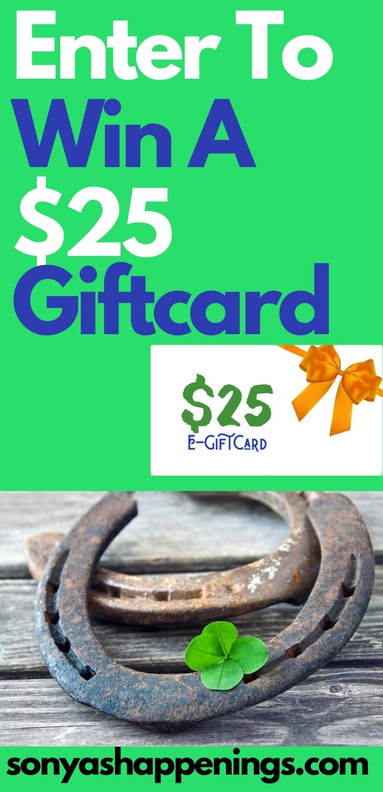 Win a $25 giftcard in the Let\'s Get Lucky giveaway hop ~ ends 3-16 #FeelingLucky