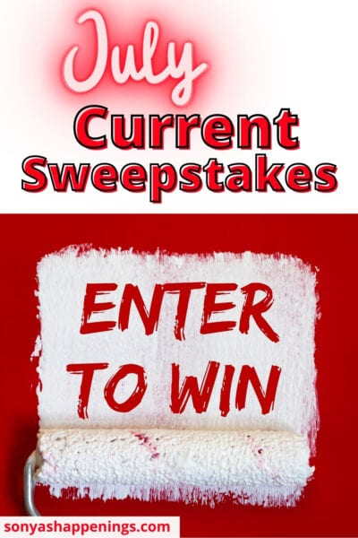 July Current Sweepstakes