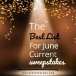 June Current Sweepstakes