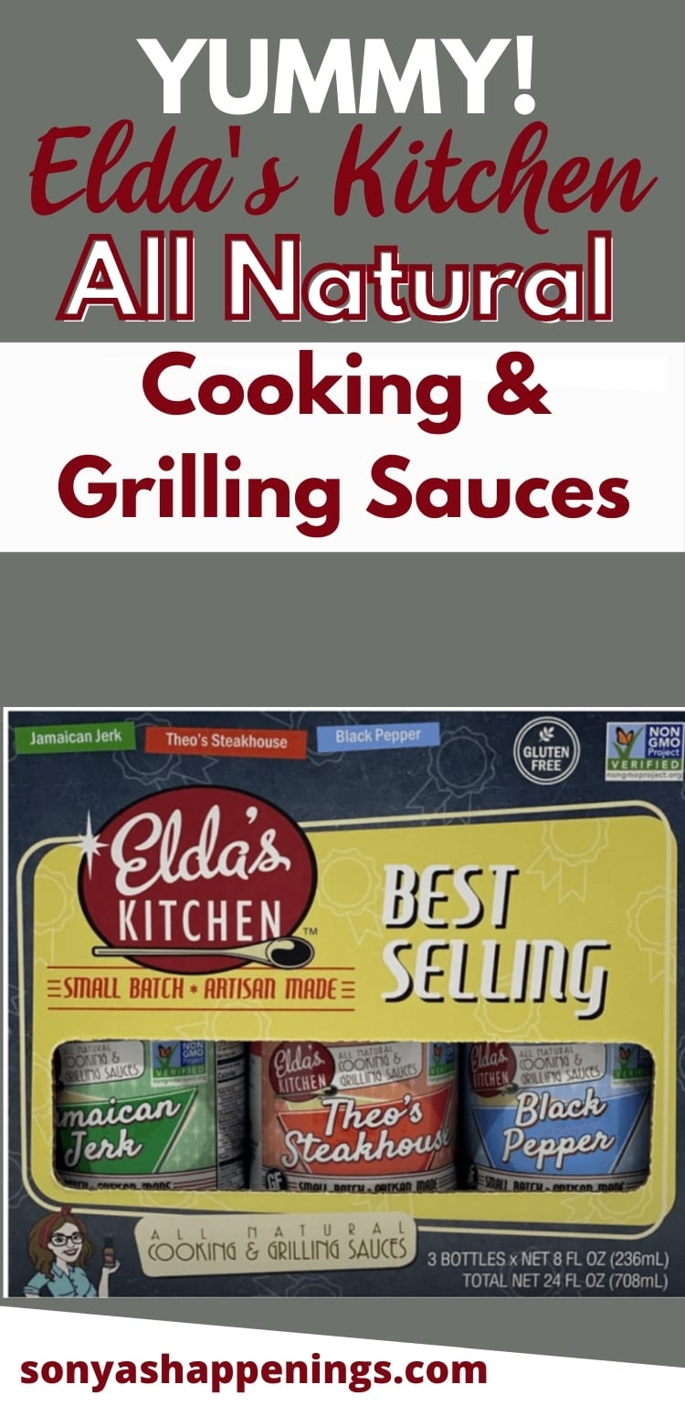Elda\'s Kitchen All Natural Cooking And Grilling Sauces
