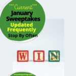 january current sweeps