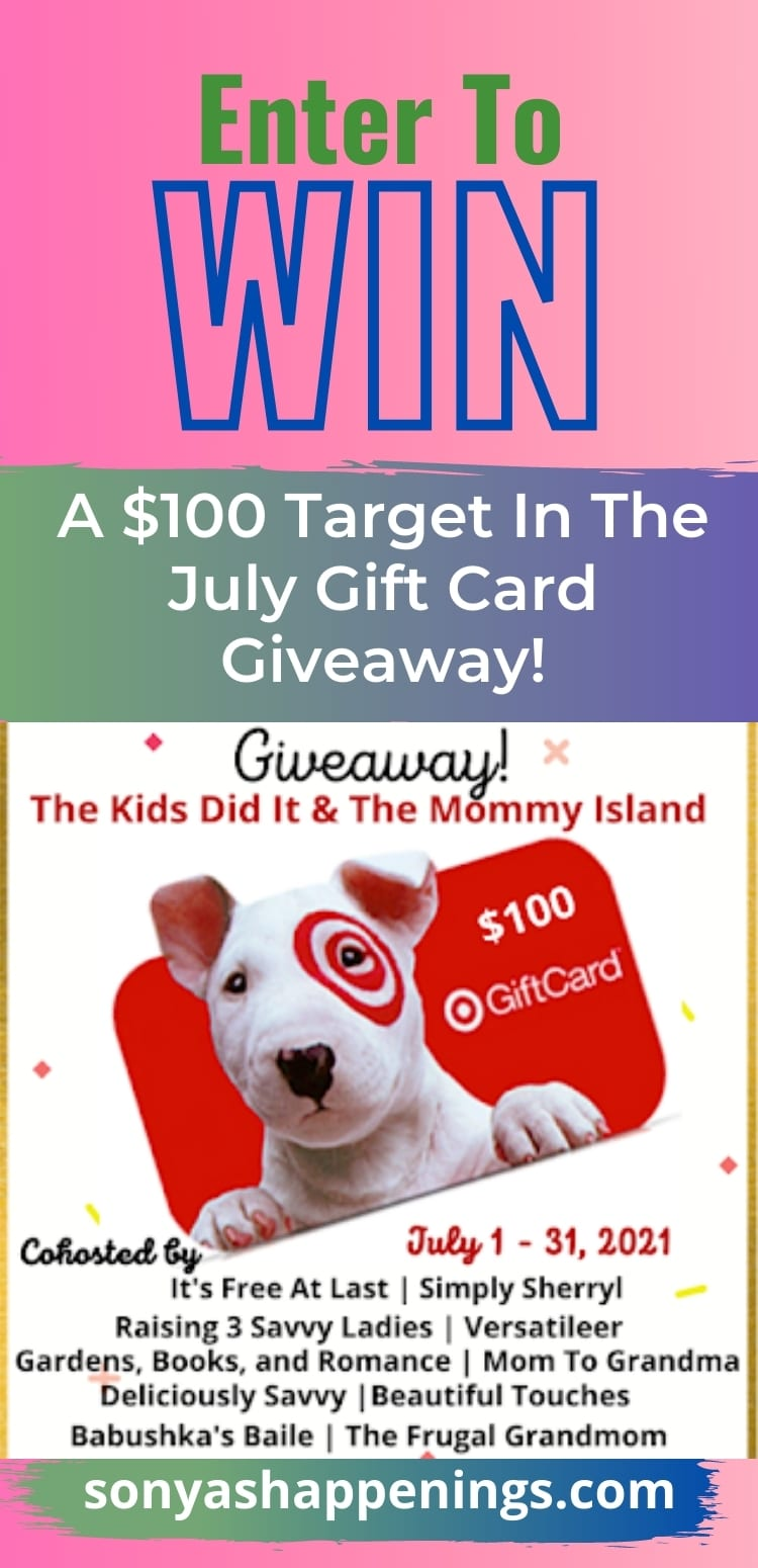 Win A $100 Target Gift Card ~ Giveaway Ends 7-31