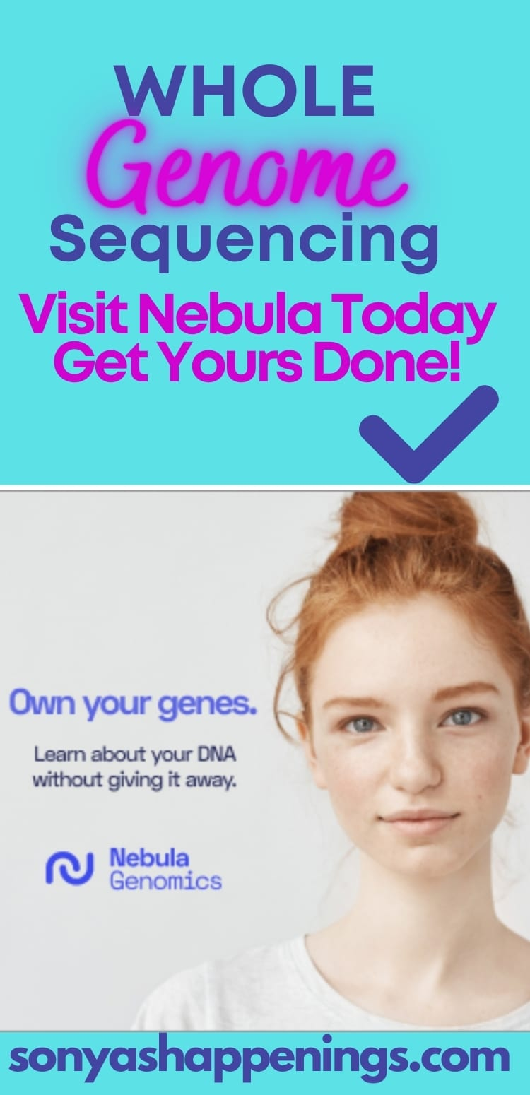 Whole Genome Testing At Nebula~ It\'s Easy!