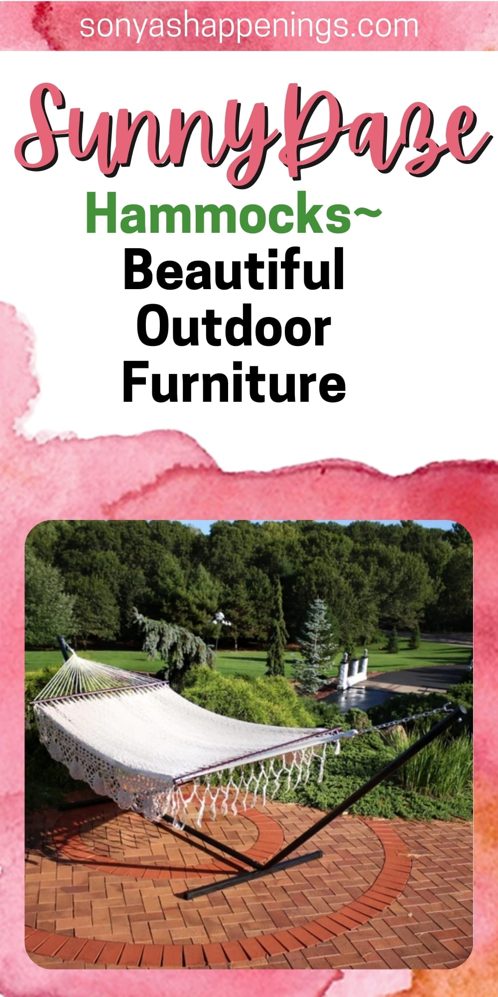 Celebrate National Hammock Day With Sunnydaze Decor ~ Awesome Outdoor Patio Furniture