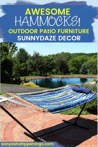 outdoor patio furniture, National Hammock Day