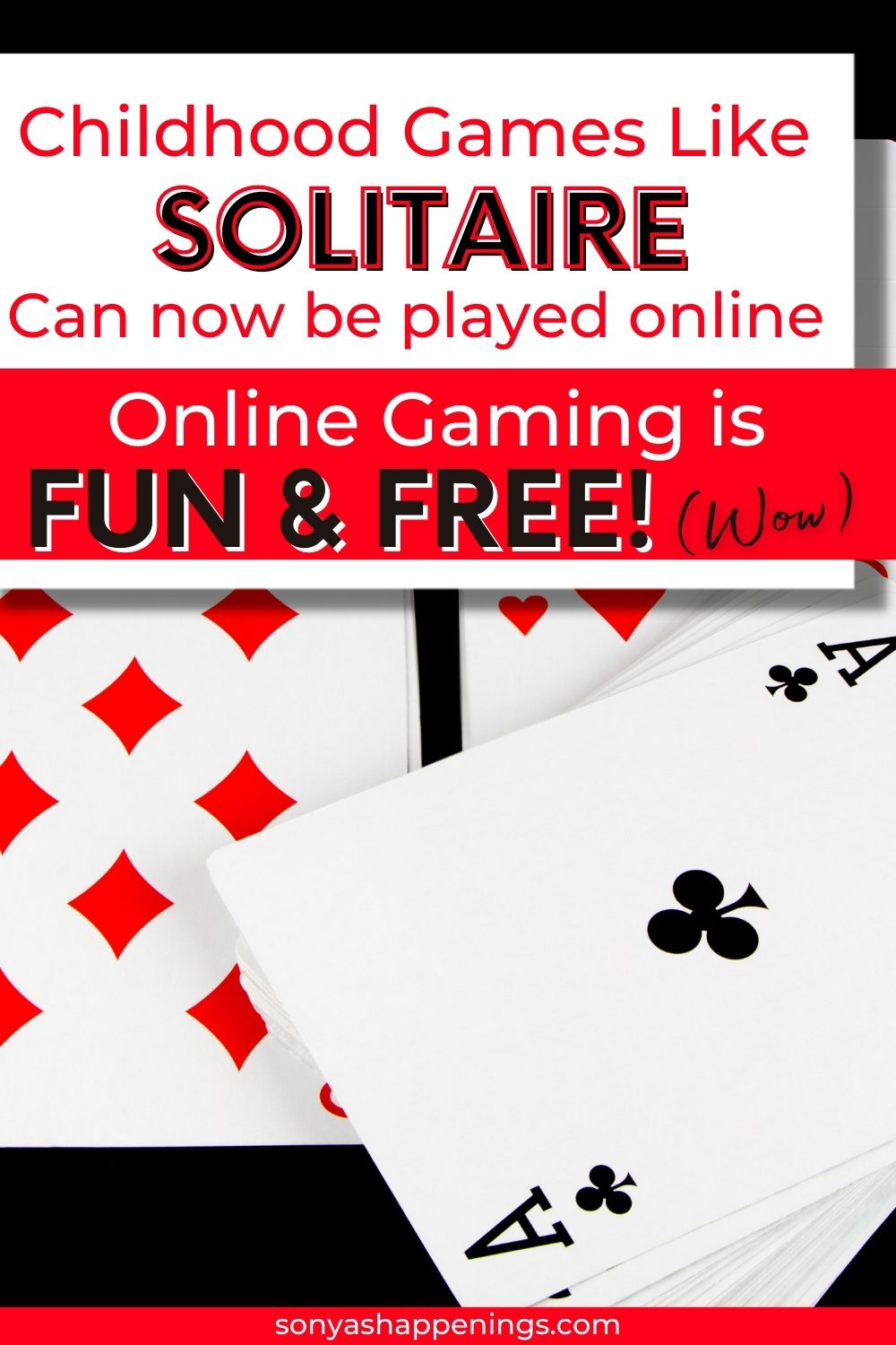 Childhood games like solitaire can now be played online!