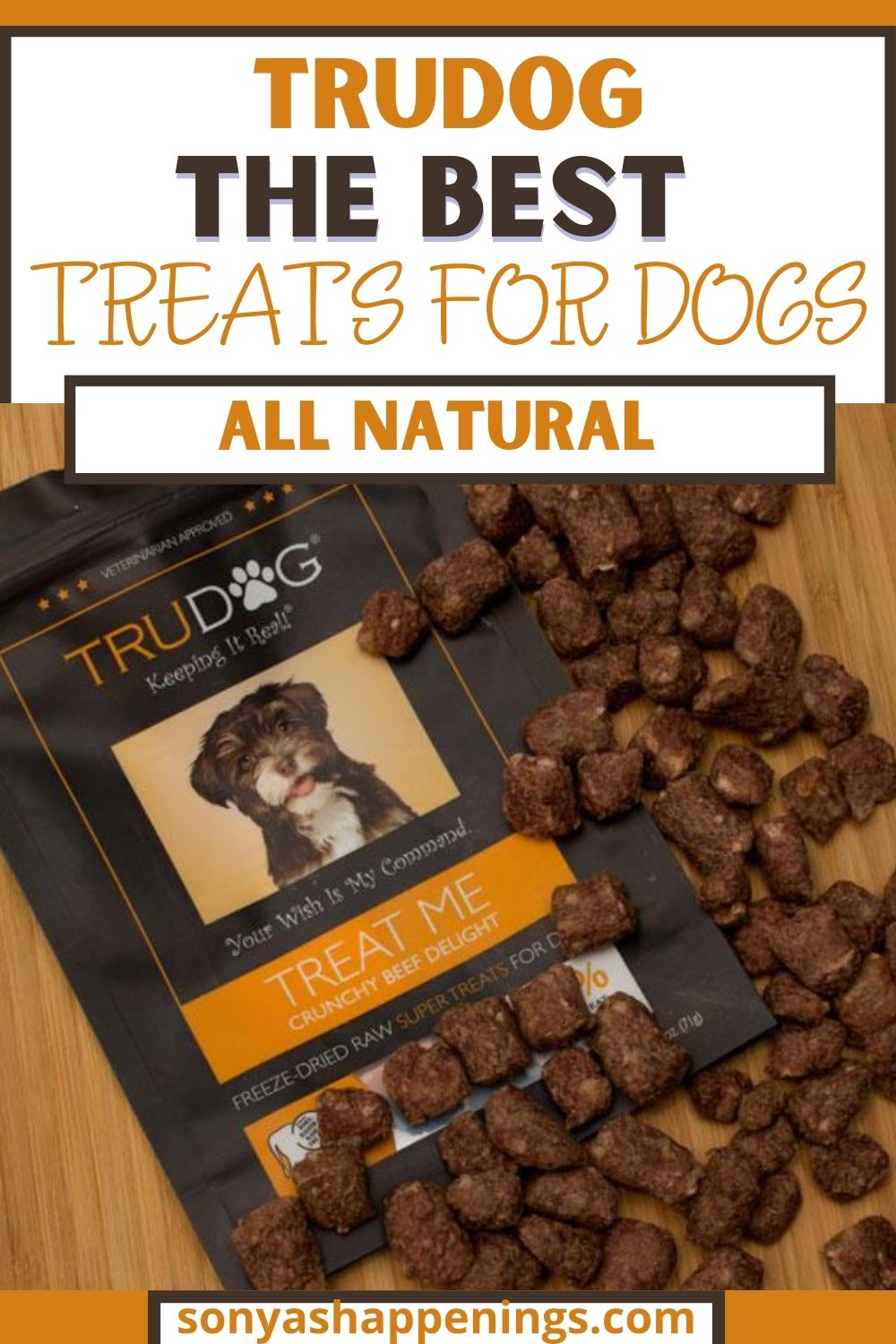 TruDog ~ The BEST Treats For Dogs #Rawgust