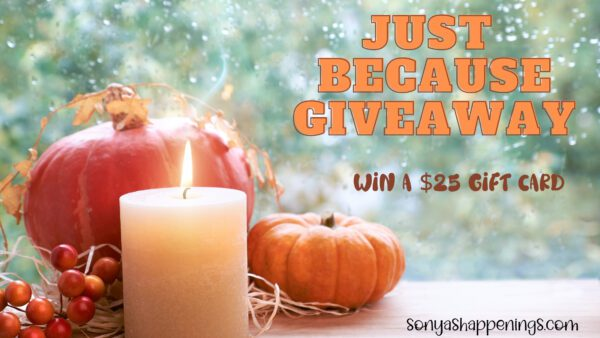 $25 Just Because Giveaway