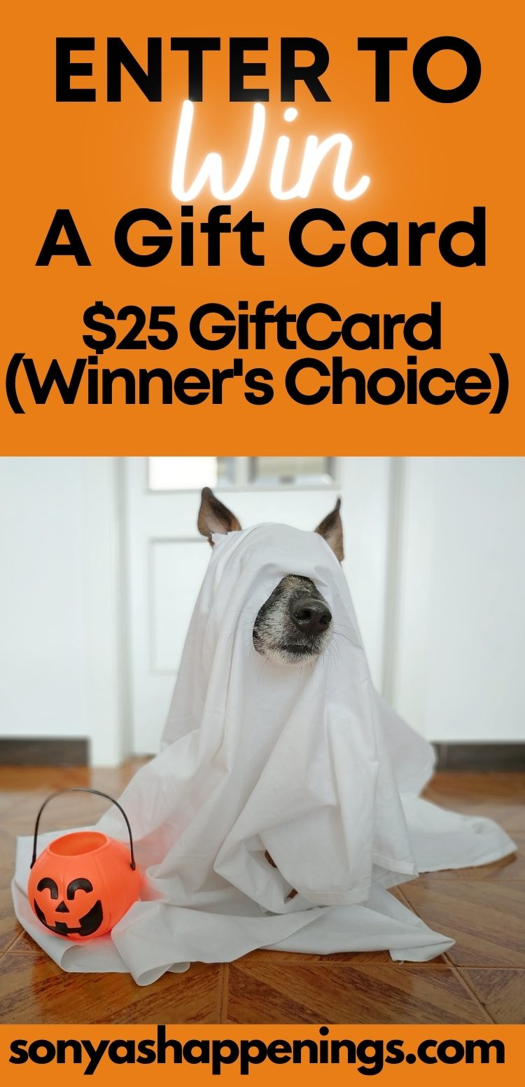 Enter To Win A $25 Gift Card In The Howloween Giveaway Hop Ends 10-19